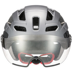 UVEX Finale Visor - Casque de vélo - gris